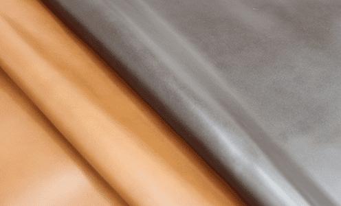 姫路産牛革のフッ素フリー防水革は人体に優しく、肌触りソフトなレザーです。
