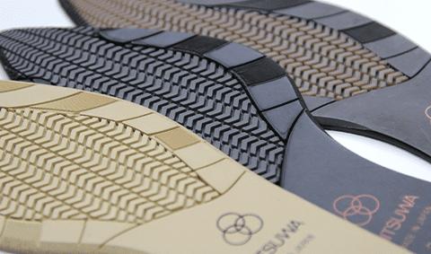 クッション性、ソフト感など履きやすさにこだわった機能性の高い靴底です。